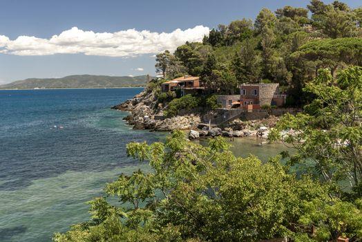 natural landscape of Porto Santo Stefano