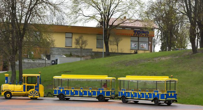 Transport for tourists visiting the Lithuanian city Druskinenkay