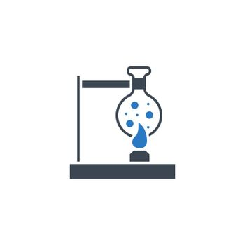 Tube Research related vector glyph icon. Isolated on white background. Vector illustration.