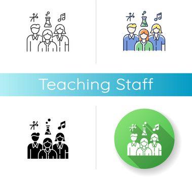 Teaching staff icon