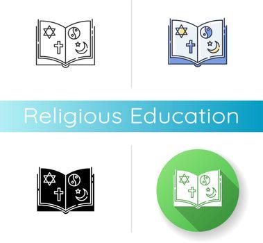 Religious education icon