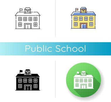Public school icon