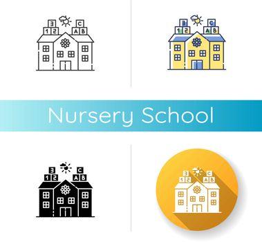 Nursery school icon