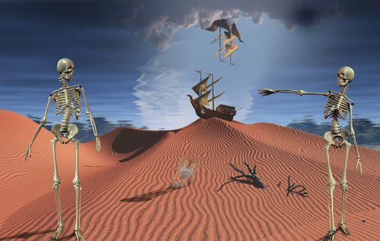 Desert sail