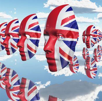 Great Britain Faces