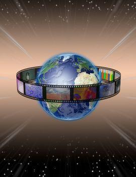 Film around planet Earth