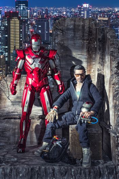KHONKAEN - DECEMBER 1, 2016 : Marvel Iron Man - Tony Stark actio