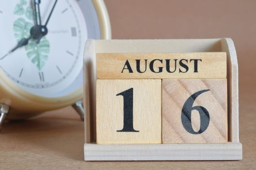 August 16