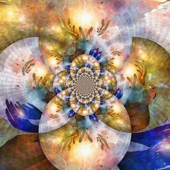 Spiritual fractal