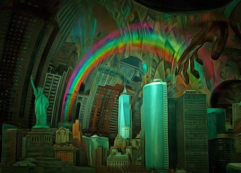 Surreal Manhattan