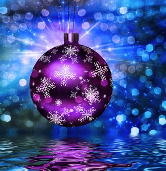 Christmas Tree Ball Illustration