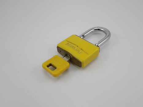 Master padlock and key in the Philippines