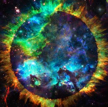 Vivid galaxy