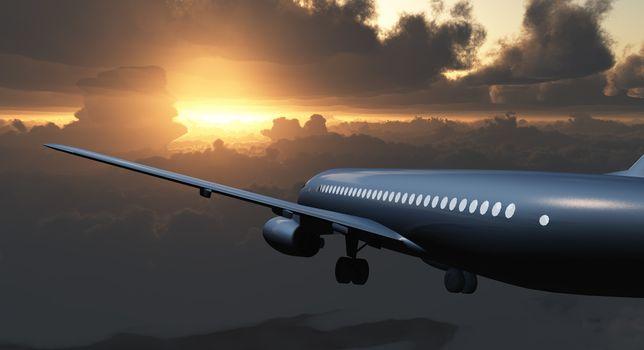 Jet Passenger Aircraft