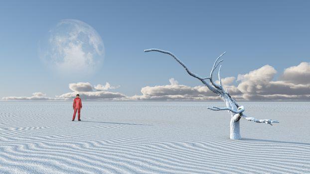 Empty Desolate Desert