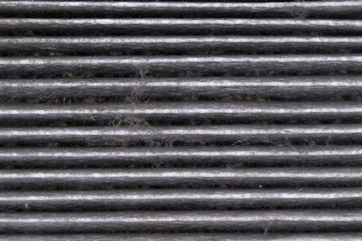 dirty car air conditioning filter