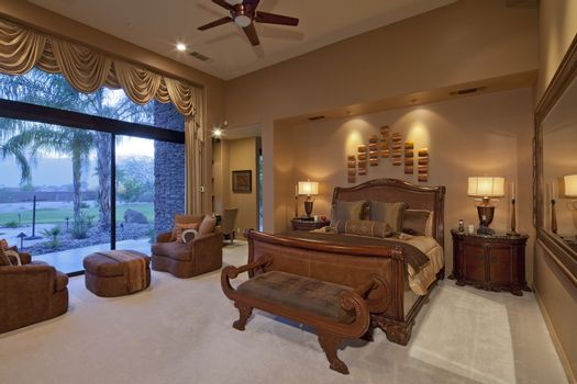 Elegant luxurious bedroom