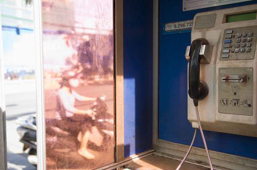 Dirty Public Telephone