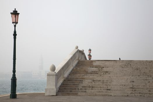 Italy Venice stairs