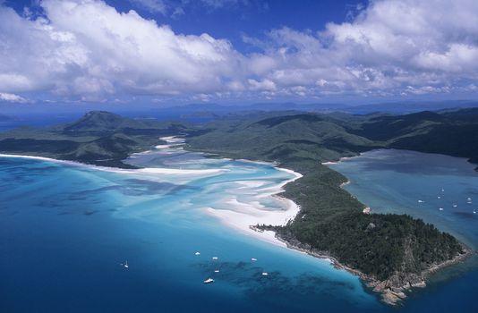 Australia Queensland White haven beach