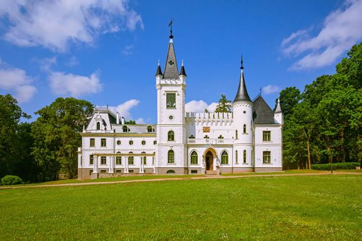 Old palace in Stameriena, Latvia