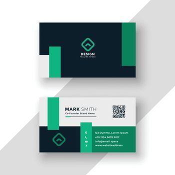 professional brand business card modern template