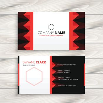 creative company business card design