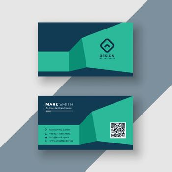 professional medical theme colors business card
