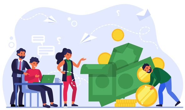 Effective manager earning money