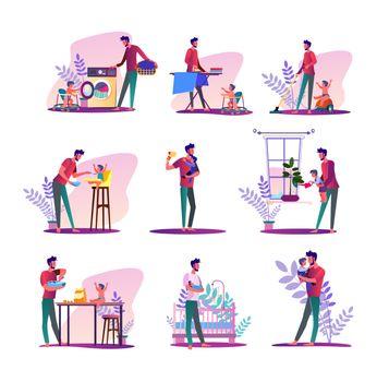 House husband set