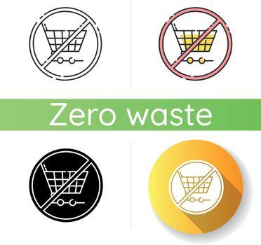 Anti consumerism icon