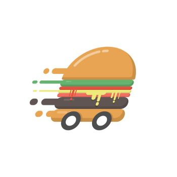 Hi speed hamburger