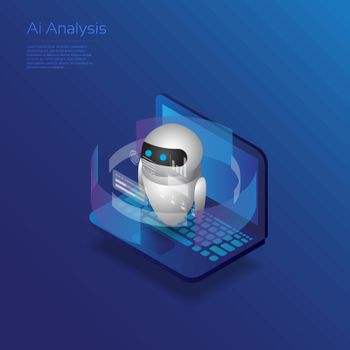 Isometric artificial intelligence, ai analysis with isometric computer