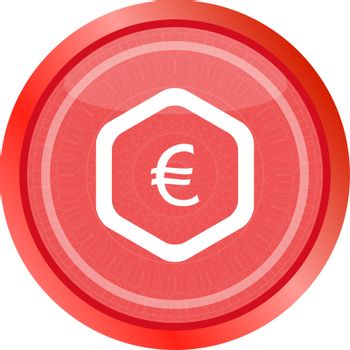 web icon on protection sign with yen money sign button