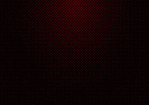 Abstract striped red square pattern grid background and texture with lighting. Luxury style wallpaper. Vector illustration