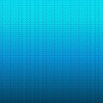 Abstract white chevron pattern on blue gradient background and texture. Vector illustration