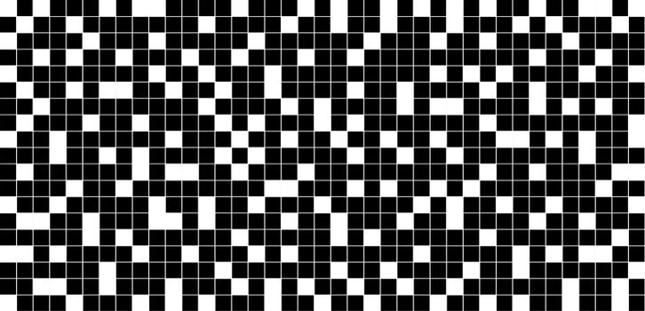 Abstract background black and white checkered grid pattern. Vector illustration