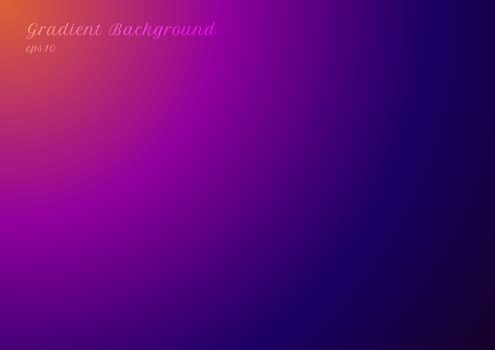 Abstract blurred trendy bright gradient vibrant color background