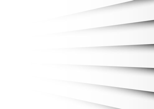 Abstract background white stripes lines diagonal with shadow.