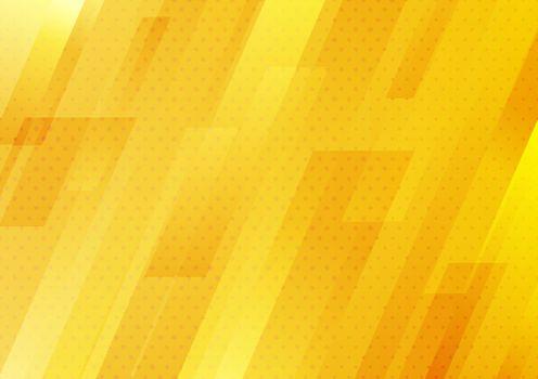 Abstract modern yellow stripes geometric diagonal with dots patt