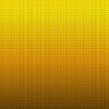 Abstract yellow chevron pattern on gradient background and textu