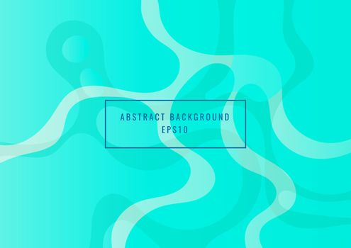 Abstract blue fluid dynamic shapes background modern concept
