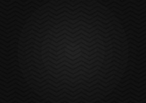 Abstract seamless zig zag line pattern on black background