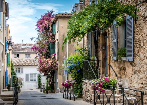 Typical house in the south of France