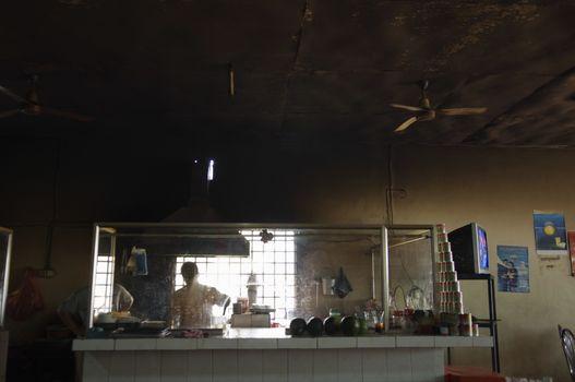 Cafe Interior in Asia