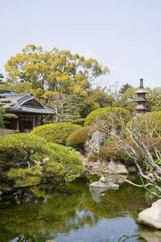 Korakuen Garden in Okayama