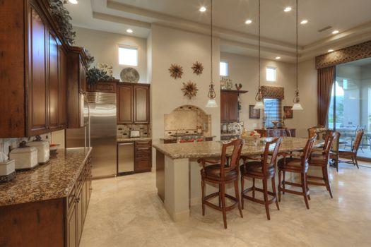 Contemporary kitchen interior design