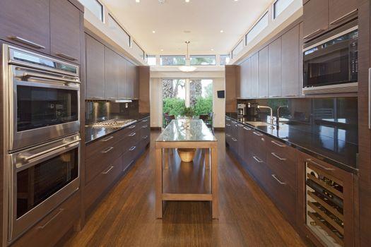 Home luxury kitchen