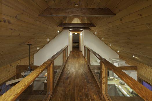 Timber Mezzanine walkway