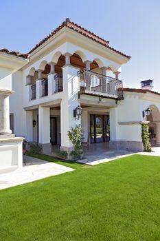 Vestibule of luxury villa